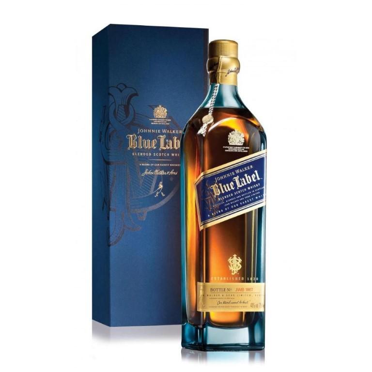 JOHNNIE WALKER BLUE 70 CL