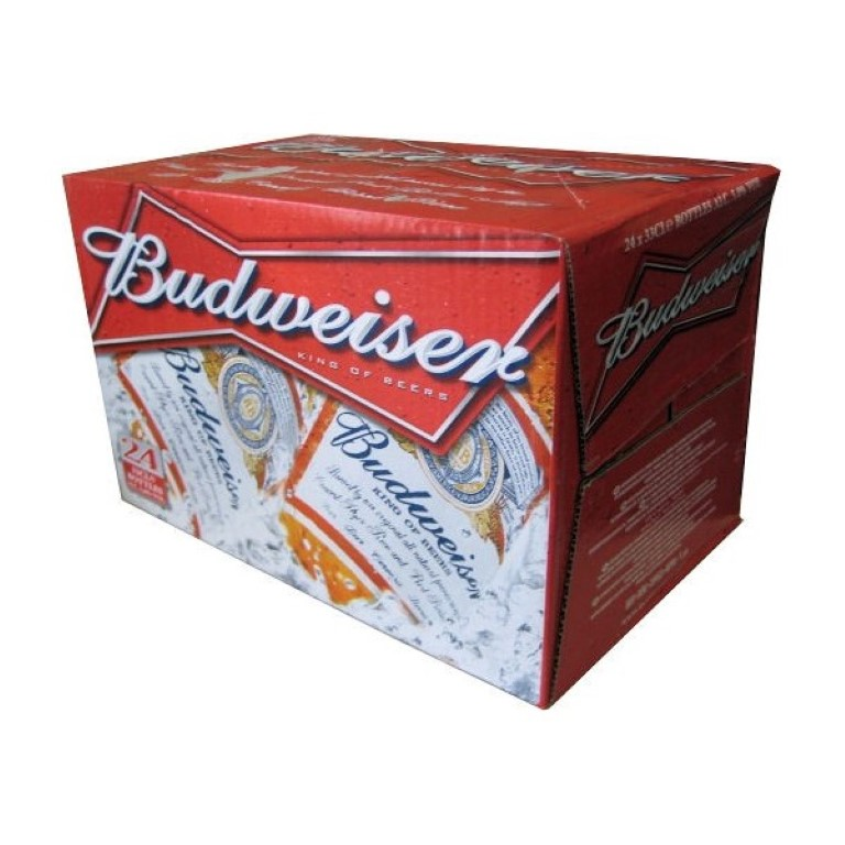BUDWEISER PACK 24 X 330 ML