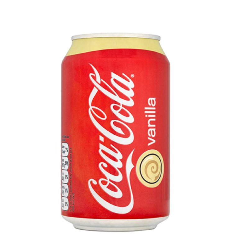 COCA COLA VAINILLA PACK 12 X 330 ML