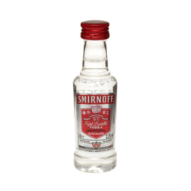 MINIATURA VODKA SMIRNOFF 5 CL